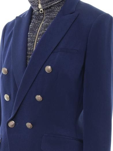 Veronica Beard Removable-dickey silk-crepe blazer