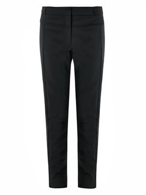High-rise skinny-leg trousers