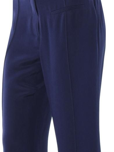 Veronica Beard Wide-leg silk-crepe trousers