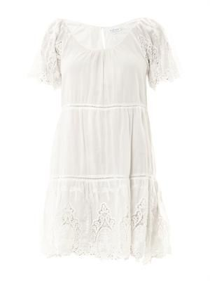 Carol broderie-anglaise cotton dress