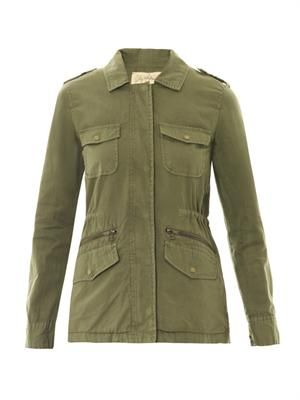 X Lily Aldridge Ruby safari jacket