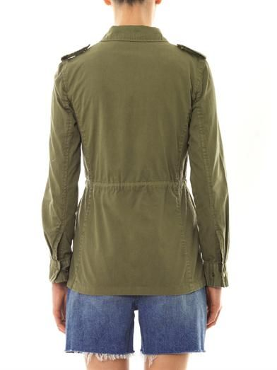 Velvet by Graham & Spencer X Lily Aldridge Ruby safari jacket
