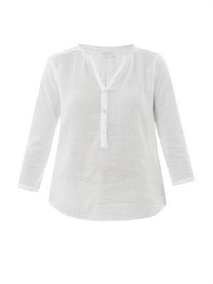 Reese sheer cotton shirt
