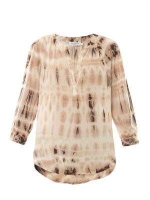 Serenity tie-dye blouse
