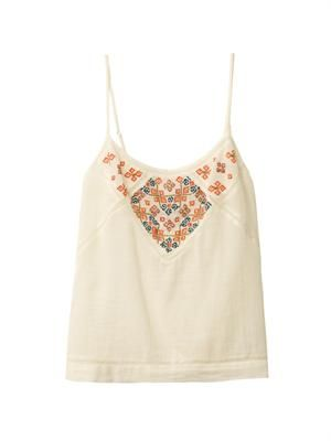 Charlize embroidered cami