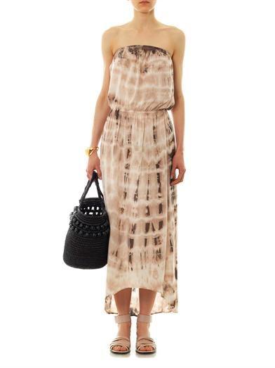 Velvet by Graham & Spencer Tippie tie-dye midi dress