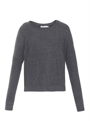 Sancha step-hem sweatshirt