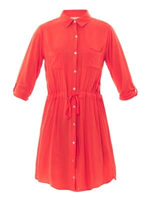 X Lily Aldridge Jessie shirt dress