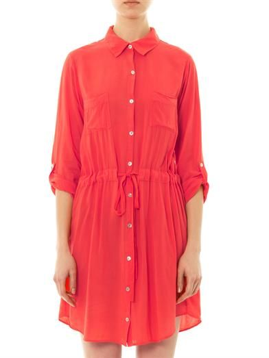 Velvet by Graham & Spencer X Lily Aldridge Jessie shirt dress