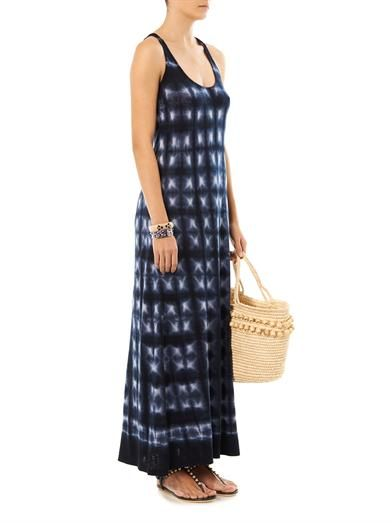 Velvet by Graham & Spencer Tie-dye maxi dress