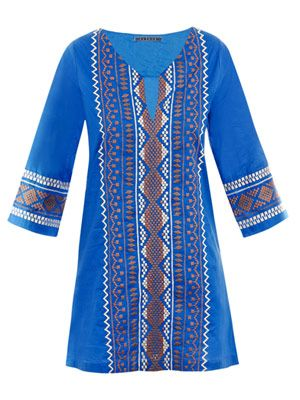 Navajo embroidered dress