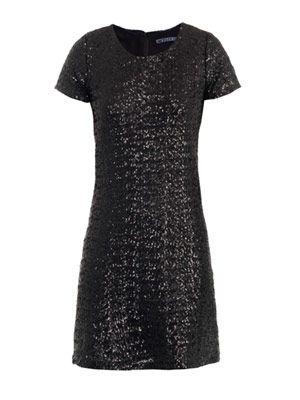 Rosey sequinned dress