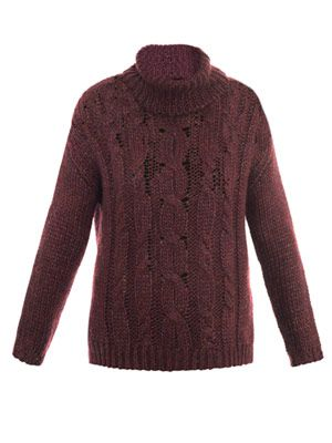 Oceana cable-knit sweater