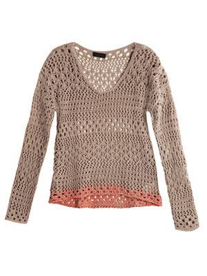 Wilma open stitch sweater