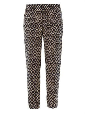 India challis relaxed trousers