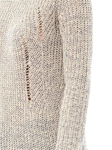 Velvet by Graham & Spencer Tatiana loose knit sweater