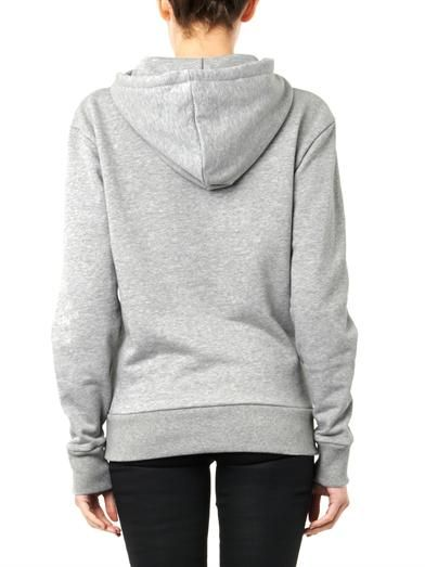 Maison Kitsuné Music Fashion-print hooded sweatshirt