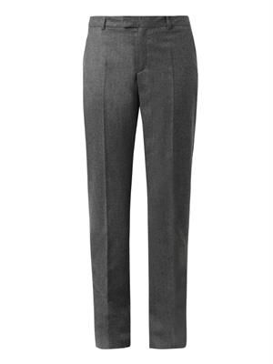 Lou wool-flannel trousers
