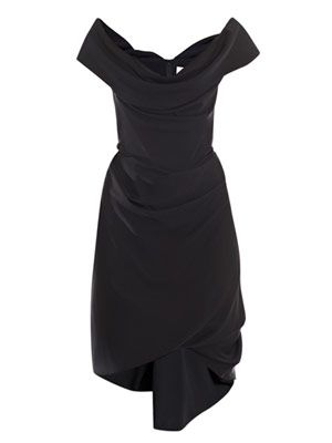 Cocotte georgette drape dress