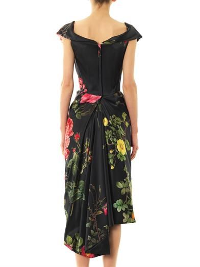 Vivienne Westwood Gold Label Mini Cocotte floral-print satin dress