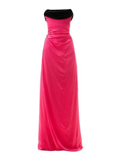 Vivienne Westwood Gold Label Ball tie-back silk gown