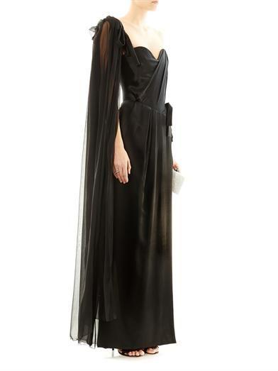 Vivienne Westwood Gold Label Dalma strapless satin gown