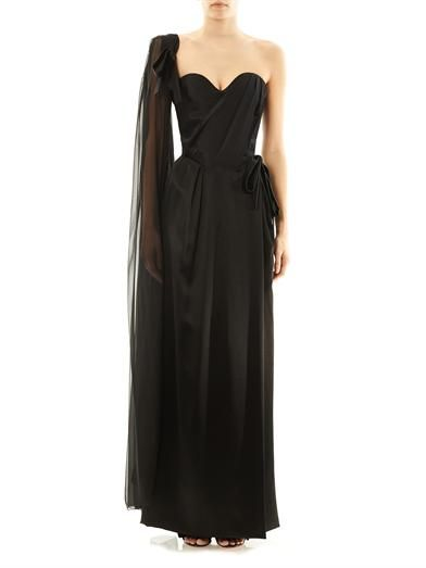 Vivienne Westwood Gold Label Dalma strapless satin gown