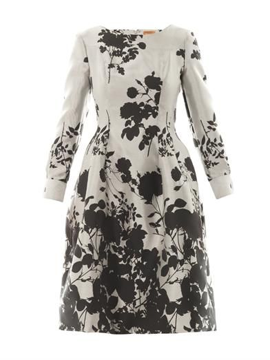 Vivienne Westwood Gold Label Joan floral-jacquard dress
