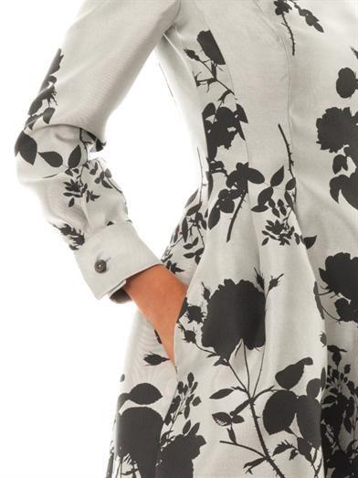 Vivienne Westwood Gold Label Joan floral-jacquard dress