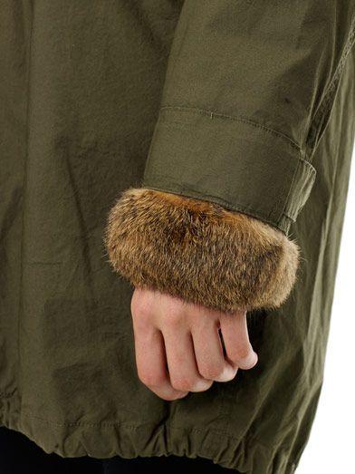 Woolrich John Rich & Bros Literary fur-trim Eskimo parka