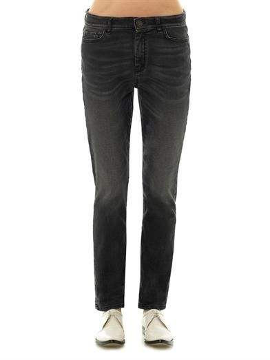 Weekend Max Mara Mallo low-rise slim boyfriend jeans