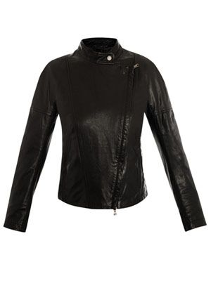 Sondalo leather jacket