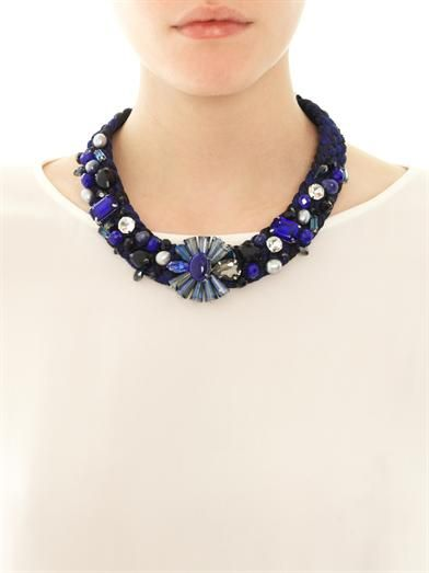 Weekend Max Mara Staffa necklace