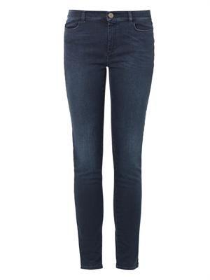 Rafia mid-rise skinny jeans