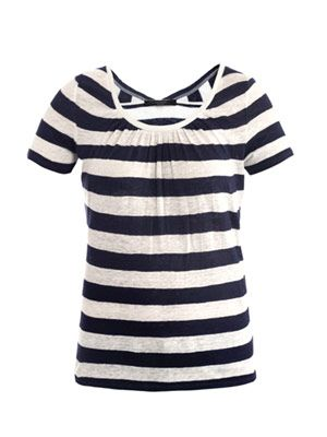 Moresca striped linen T-shirt