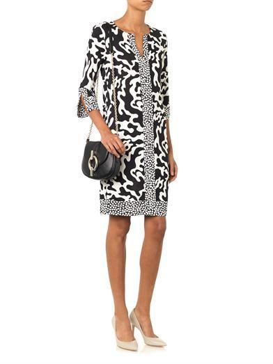 Diane Von Furstenberg Rose dress