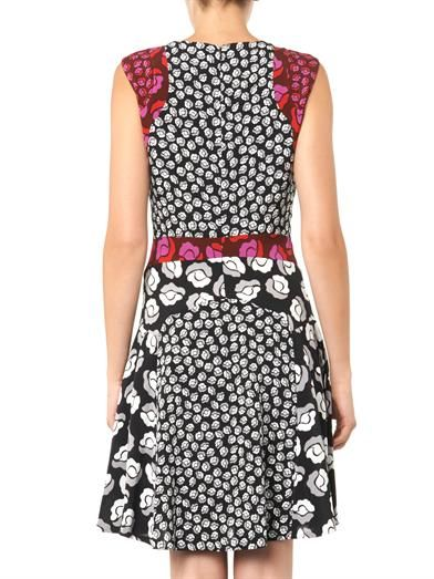 Diane Von Furstenberg Paris dress