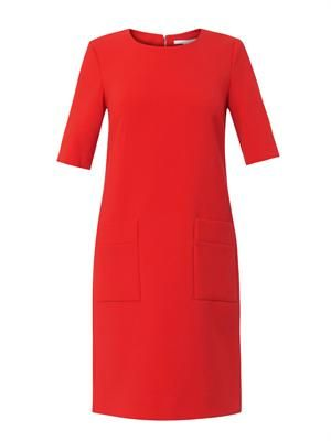 Stretch-jersey shift dress