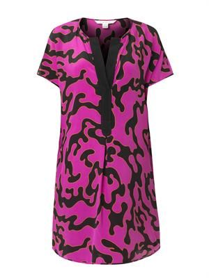 Firebird-print dress