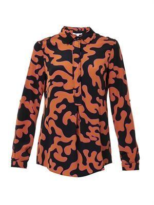 Firebird-print shirt