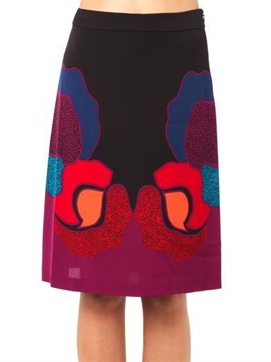 Diane Von Furstenberg Dancing skirt