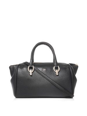 Sutra small leather duffle bag