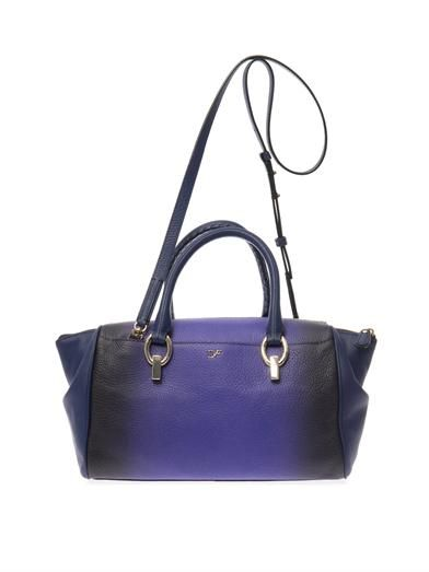 Diane Von Furstenberg Sutra small leather duffle bag
