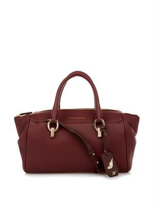 Sutra leather duffle bag