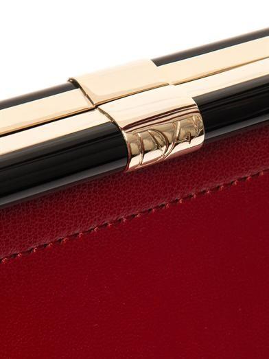 Diane Von Furstenberg 440 Runaway leather tote
