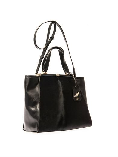 Diane Von Furstenberg 440 Runaway calf-hair and leather tote