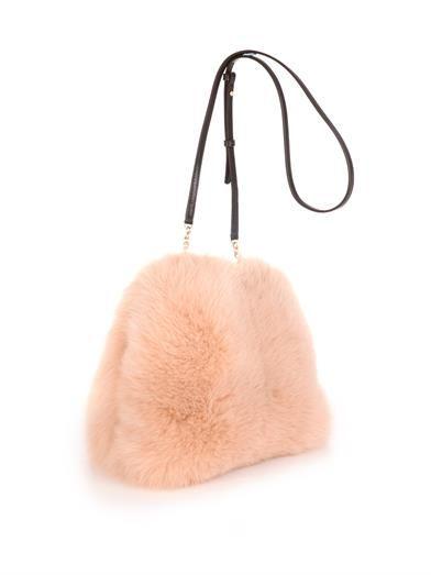Diane Von Furstenberg Sutra Foxy Muff clutch