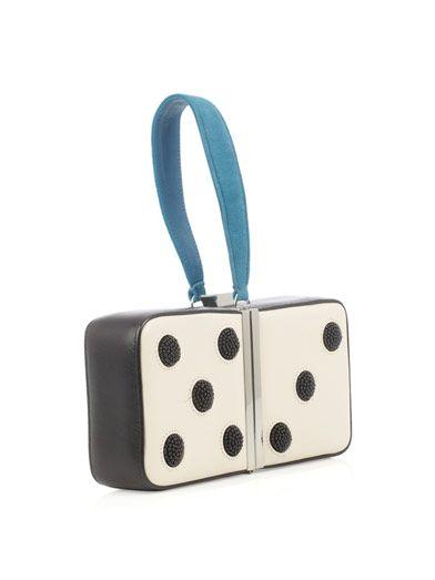 Diane Von Furstenberg Dice box clutch