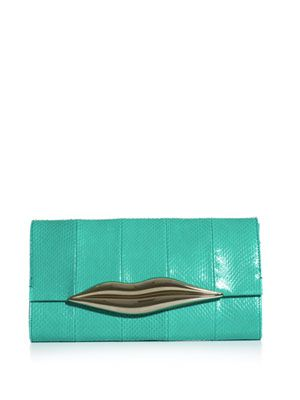 Carolina lips clutch