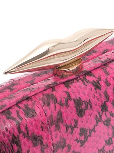 Diane Von Furstenberg Flirty minaudiere clutch